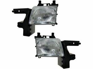 For 1998 Dodge B1500 Headlight Assembly Set 25589HQ Headlight Assembly