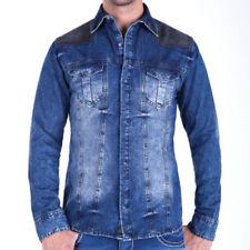 Unifarbene Langarm Herren-Freizeithemden & -Shirts Hemd-Stil