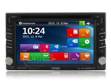 """Autoradio DME 2 DIN 6,2"""" HD1080p Touchscreen NAVI Navigatore GPS DVD BT USB SD"""