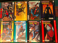LOT 8 COMICS # ULTIMATE SPIDER-MAN n°7-9-16-17-18-28-61-63 # MARVEL PANINI