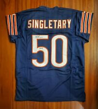 Mike Singletary Autographed Signed Jersey Chicago Bears JSA
