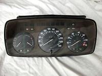 BMW E23 VDO Instrument Cluster Gauge Speedometer Euro Spec KMH OEM EDM 1360857