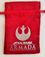 Star Wars Armada Red Dice Bag + x5 Acrylic Tokens Spring 2015 Promo by FFG