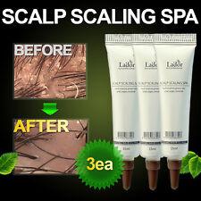 Anti dandruff Hair loss Treatment Deep Cleansing Scalp Scaling Clinic Spa 3ea