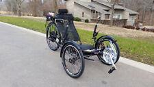 Folding Recumbent Trike Bike Bicycle w/ Electric Motorized Option
