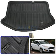 Fit For Ford Fiesta Hatchback 09-17 Boot Liner Rear Trunk Mat Cargo Floor Carpet