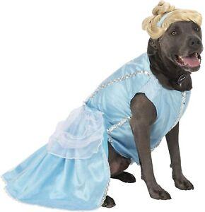 Cinderella Disney Princess Big Dog Cute Funny Fancy Dress Halloween Pet Costume