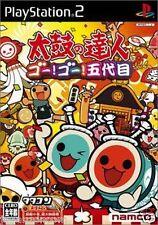 Used PS2  Namco Taiko no Tatsujin 5  SONY PLAYSTATION 2 JAPAN