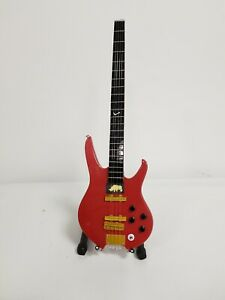 Miniature Bass Guitar As Played By Status Quo's Rhino