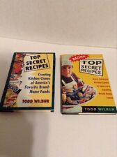 Top Secret Recipes by Todd Wilbur Set of 2 Books Hardcover (217)