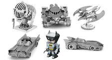 Batman Metal Earth 3D Model Kit - Self-Assembly Laser Cut Miniatures - 6 Designs