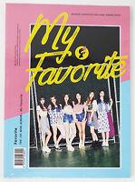 FAVORITE - My Favorite (1st Mini Album) CD+Photobook+Photocard