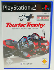 Tourist Trophy-THE REAL RIDING SIMULATOR completamente OVP PLAYSTATION 2 ps2 ben