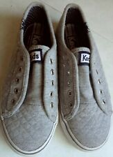 Keds Double Up Shortie Slip-On Gray Girls Shoes Size 13.5 M