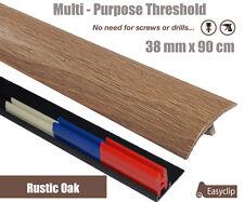 Sample Threshold Strip Adjustable Height&Pivot All Floor Types 38mmx9cm Adhesive
