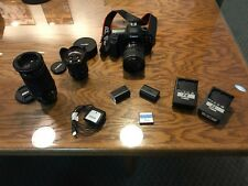 5D Canon Mark II outfit with lenses  28-135, 14mm, 70-300mm