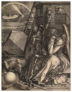 Albrecht Durer Melancolia paper or canvas reproduction