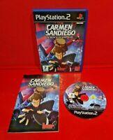 Carmen Sandiego The Secret of the Stolen Drums PS2 Pal UK Game PlayStation 2