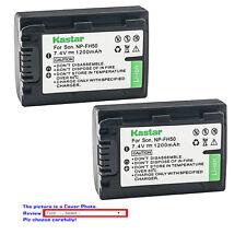 Kastar Replacement Battery for Sony NP-FH50 & Sony Cyber-shot DSC-HX1 DSC-HX100