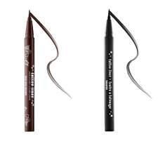 NEW LOT 2 EYELINERS KAT VON D TATTOO LINER TROOPER AND MAD MAX BROWN DELUXE SIZE