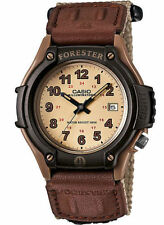 Casio Men's 100 Meter WR Beige/Tan Nylon Strap, Date,  FT500WC-5BV
