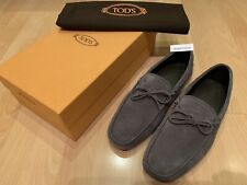 Tods Gommino Driving Shoes - Grey (UK 8)