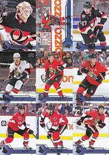 Ottawa Senators 2016-17 Upper Deck Complete Team Set 13 Different Cards