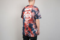 HUF x Ty Dolla Sign By The Gram Blood Wash T-Shirt Batik Tie Dye L tee NEU