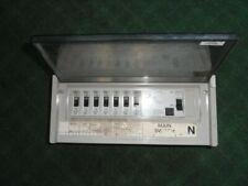 Consumer unit MK used