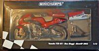 Minichamps Max Biaggi YZRM1 1:12 Scale MINT Boxed Ltd Collectors Edition MotoGP