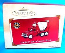 Hallmark Ornament 2002-Tonka 1961 Cement Truck-Tonka 55th Anniversary