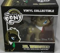 "New My Little Pony Dr Whooves Collectible 6"" Vinyl Figure Toy Funko Red Bow Tie"