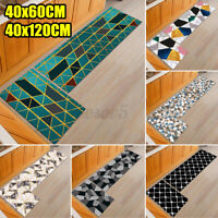 2PCS/Set Kitchen Floor Non-slip Runner Anti Fatigue Rug Door Mat Home Decor
