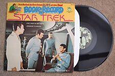 Star Trek Book & Record Set Rock Record lp VG+
