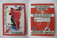 2015 SCA Rich Shulmistra New Jersey Devils goalie never issued produced #d/10