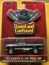 MALIBU 1/64 '72 CHEVY C-10 PICK UP DAZED AND CONFUSED TRUCK REEL RIDES.   BinZ51