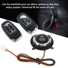 Car passive keyless entry remote engine start keyless button system lock unlock