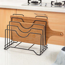 Kitchen Tool Cutting Chopping Board Rack Pot Lid Pan Cover Holder Storage