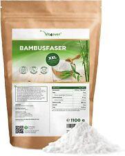 BAMBUSFASERN 1,1kg / 1100g - Ballaststoffe -100% Vegan - Bambus-Mehl Low Carb