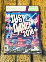 Just Dance 2018 (Microsoft Xbox 360) Brand New Sealed, Free Shipping