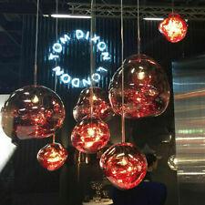 E27 Ball Lava Melt Pendant lamp Hanging light Chandelier Light Ceiling Light PU