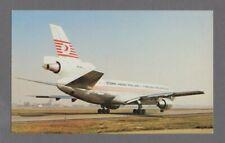 TURKISH AIRLINES DOUGLAS DC-10 VINTAGE AIRLINE ISSUE POSTCARD THY TURK HAVA YOLL