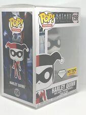 Funko Pop! #156 Batman Harley Quinn Diamond Figure Hot Topic Exclusive!