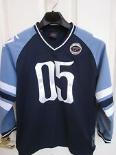 Official Fubu Vintage Collection Jersey 05 Size M (12/14) Black and Blue 1992