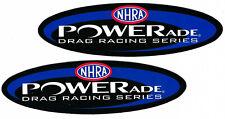 Nhra Powerade Racing Decals Sticker Set Of 2 Body Black Window Auto Vinyl