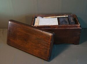 Rare 19th Century Korean Joseon Dynasty Scholar SeonBi Ink Stone Box