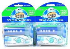 2 Scrubbing Bubbles Toilet Cleaning Gel Clean Sanitary Glade Rainshower 2 Months