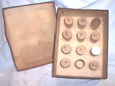 EARLY EDISON COLUMBIA CYLINDER PHONOGRAPH RECORD HOLDER , HOLDS 12