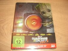 Guardians of the Galaxy Vol. 2 Blu-Ray Steelbook NEU
