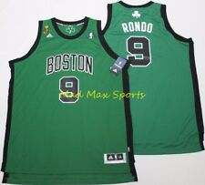35a04a2acf3 RAJON RONDO Boston CELTICS Adidas NBA FINALS Alt SWINGMAN Throwback Jersey  XXL